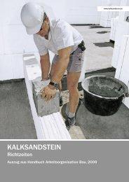 Einführung - Bundesverband Kalksandsteinindustrie eV