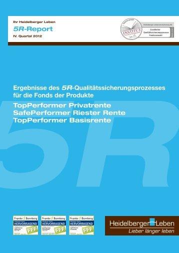 5R-Report - Heidelberger Leben