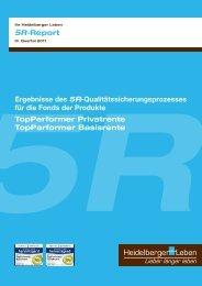 5R-Report - 3. Quartal 2011 - Heidelberger Leben