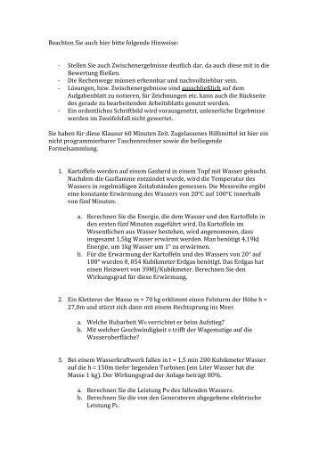 Musterarbeit Physik (PDF, 54 KB, Datei ist nicht - Bundespolizei