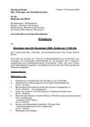 29.11.2005 Bau-, Planungs- und Umweltausschuss - in der ...