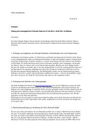 STADT HEIDENHEIM 30.03.2012 Protokoll Sitzung des ...