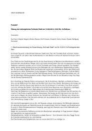 STADT HEIDENHEIM 27.06.2012 Protokoll Sitzung des ...