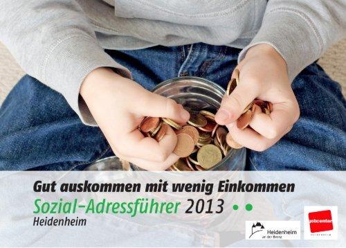 Sozial Adressführer 2013 - Gut auskommen.pdf - Stadt Heidenheim
