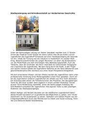 His & Her Story - Stadt Heidenheim