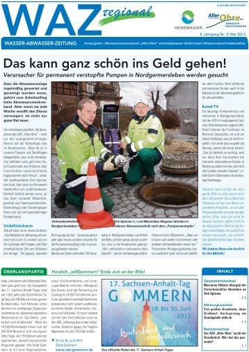 Ausgabe Behnsdorf - Heidewasser GmbH