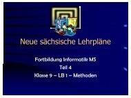 Neue sächsische Lehrpläne - auf der Homepage von Heiko Neupert.