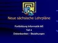 Folien Beziehungen - auf der Homepage von Heiko Neupert.