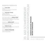 Programm Gynäkologie 2013 als PDF 57 kB - Eisenmoorbad Bad ...