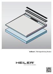 heiBoard | Montageanleitung Neubau - Alois Heiler GmbH