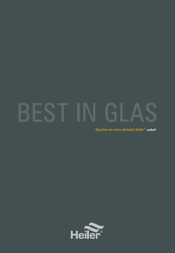 Douches en verre véritable Heiler® unikat© - Alois Heiler GmbH