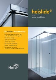 heislide© - Alois Heiler GmbH