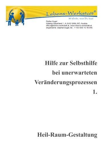 Heilraumgestaltung Anleitung zum Selbstgestalten - Sandra Trummer