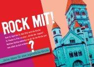 …deine Ideen für eine jugendliche Kirche - Heilig-Rock-Wallfahrt