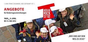 Info-Flyer als PDF - Heilig-Rock-Wallfahrt
