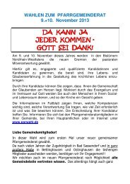 PGR-Wahl 2013 Flyer als pdf-Datei - Katholischen Pfarrei Heilige ...