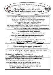 Der Pfarrbrief vom 06.04.2012 bis 16.04.2012 - Katholischen Pfarrei ...