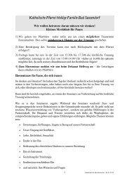 Merkblatt für Brautleute - Katholischen Pfarrei Heilige Familie Bad ...