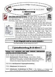 Der Pfarrbrief vom 08.12.2012 bis 16.12.2012 - Katholischen Pfarrei ...
