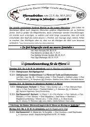 Der Pfarrbrief vom 22.09.2012 bis 30.09.2012 - Katholischen Pfarrei ...