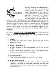 Nach der Teilnahme am Katholikentag in Mannheim war auch im ...