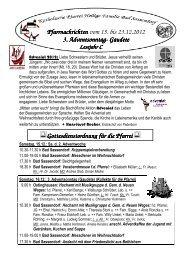 Der Pfarrbrief vom 15.12.2012 bis 23.12.2012 - Katholischen Pfarrei ...
