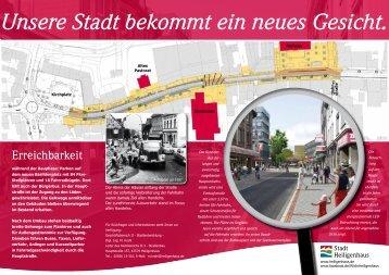 Flyer Innenstadtumbau - Stadt Heiligenhaus