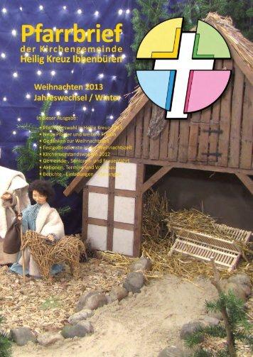 Weihnachten 2013 - Heilig Kreuz