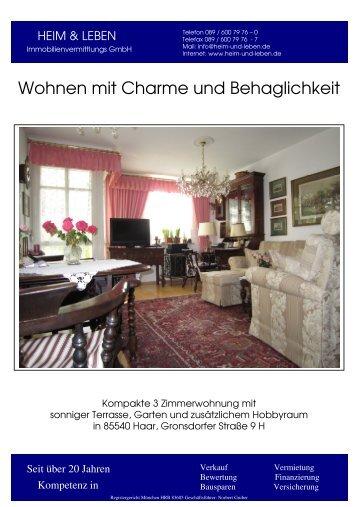 Komplettexpose zum Ausdruck - Heim & Leben