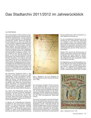 167-170 - Verein für Heimatkunde Krefeld