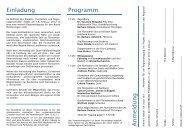 dazu im Programm (als PDF) - Heimatbund Thüringen
