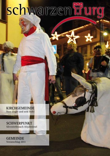 Kirchgemeinde SchwerpunKt gemeinde - aktuelle Ausgabe