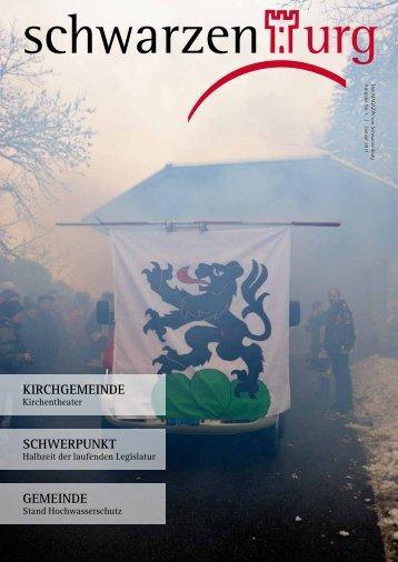 Ausgabe 01/2011 - Gemeinde Schwarzenburg