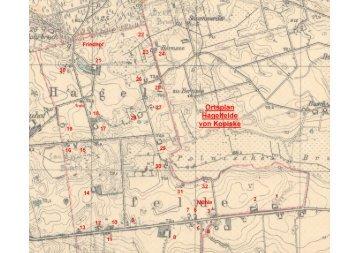 00821300 Hagelfelde Plan - Heimatkreis Arnswalde