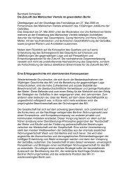 Bernhard Schneider Die Zukunft des Märkischen Viertels im ...