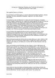 Vortrag von Karin Satke - Heimatverein Marzahn-Hellersdorf e.V.