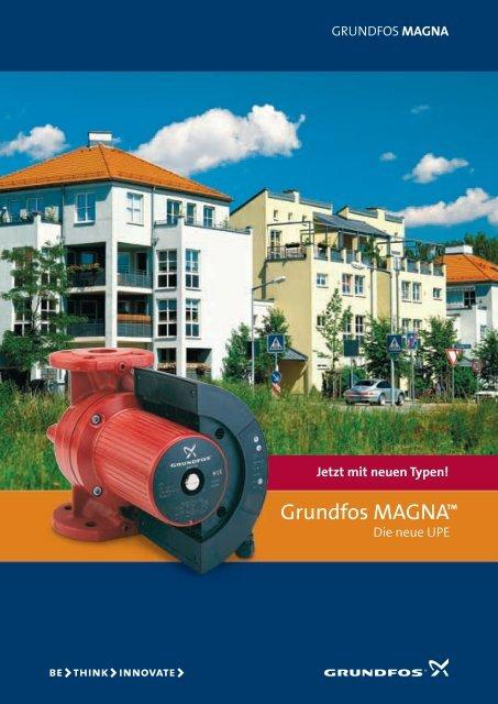 Grundfos MAGNA™ - HBC Heimbaucenter GmbH