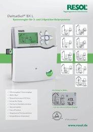 DeltaSol® BX L - HBC Heimbaucenter GmbH