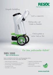 SBS 2000 - HBC Heimbaucenter GmbH