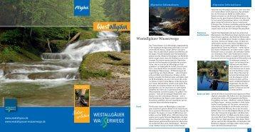 Westallgäuer Wasserwege - Gemeinde Hergatz