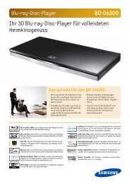 Blu-ray-Disc-Player BD-D6500 Ihr 3D Blu-ray-Disc ... - HEIMHIFI.COM