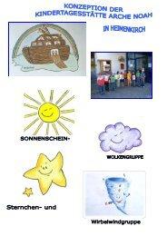 Konzeption der KiTa Arche Noah - Heimenkirch