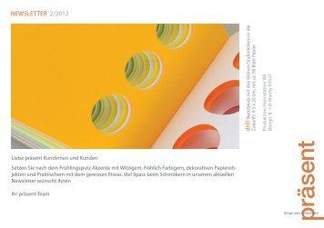 NEWSLETTER 2/2012 drill - Heimstätten Wil