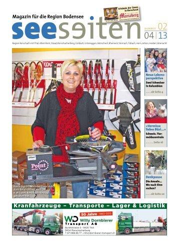 Magazin für die Region Bodensee - Seeseiten