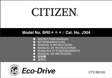 J304 - CITIZEN WATCH Global Network