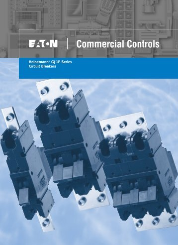 Heinemann® GJ1P Series Circuit Breakers