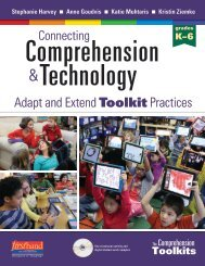 Adapt and Extend Toolkit Practices - Heinemann