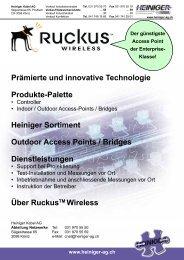 Outdoor-Access Points / Bridge - Heiniger Kabel AG