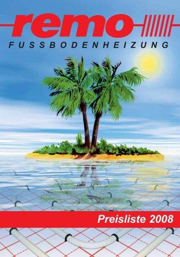REMO Fussbodenheizung - Heinlein Kulmbach