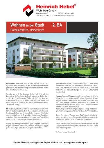 weitere Infos zum Objekt - Heinrich Hebel Heidenheim